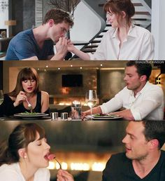 """""""Choose your fav • Fifty Shades of Grey • Fifty Shades Darker • Fifty Shades Freed —…"""""""