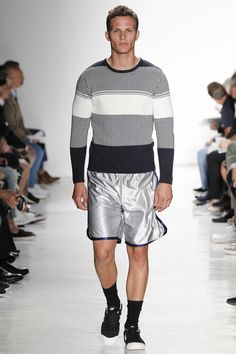 Sweater mens pattern - Todd Snyder Spring 2017 Menswear Fashion Show