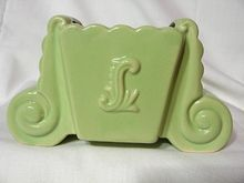 Vintage 1950's Fredericksburg Art Pottery Novelty Planter  **I just bought one like this today**