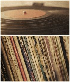 One day, I hope we'll be enjoying listening to vinyl. Just need to get us a record player....and probably records too! haha ;)