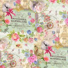 Marseillaise - Baumwolle - mintgrün