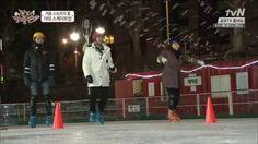 140206 [ENG SUB] MBLAQ Seungho - Skating Match @ Paldo Wandering Band Ep...