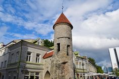 Tallinn, the gem of the Baltic: one day trip from Helsinki — ARW Travels One Day Trip, Cities In Europe, Back In Time, Helsinki, Old Town, Finland, Gate, Cathedral, Building