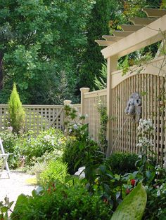 Traditional Patio Fence Design, Pictures, Remodel, Decor and Ideas - page 4