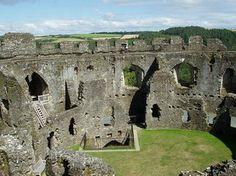 Restormel Castle, English Heritage, Lostwithiel, South Cornwall
