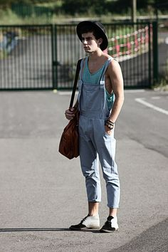 #Boy #Guy #Men #Overalls #Menswear