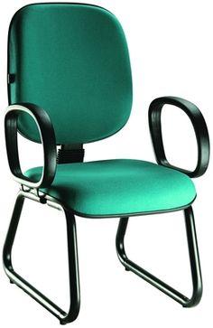 Cadeira Diretor Fixa Base Trapezio | Cadeira Giratória Para Escritório http://www.lynnadesign.com.br/produtos/cadeira-diretor-fixa-base-trapezio/
