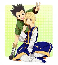Gon and Kurapika =D ~Hunter X Hunter