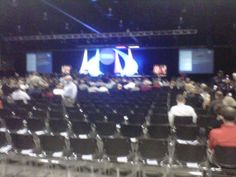 @ICMA2011 in Milwaukee minutes from kickoff. Still looking for Brett Favre. @LocalManagers