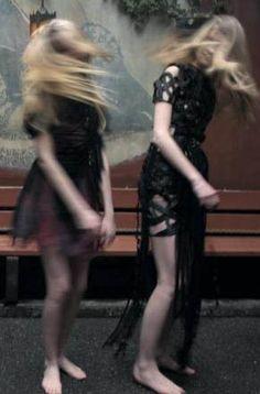 Ondria Hardin, Dorte Limkilde And Carrie Anne Burton By Nan Goldin For Grey Magazine | Winter 2012