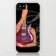 """Guitar"" iPhone & iPod Case | $35.00 Ipod, Iphone Cases, Guitar, Amp, Creative, Ipods, Iphone Case, Guitars, I Phone Cases"