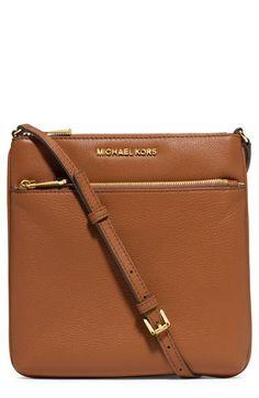 MICHAEL Michael Kors 'Small Riley' Leather Crossbody Bag | Nordstrom