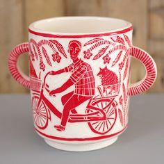 www.vickylindo.co.uk. The Pigeon club pottery, Bideford.