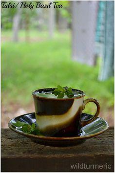 Holy Basil Tea: This homemade tea aids digestion, treats skin diseases, treats sore throat & helps combat stress!