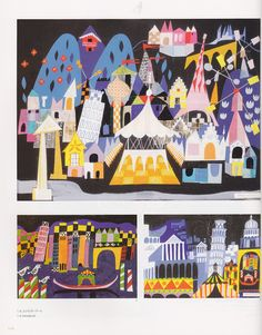 "Mary Blair, concept art for ""It's a Small World"""