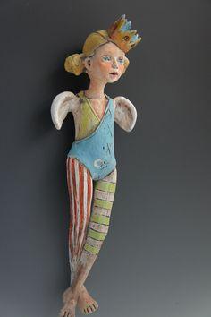 Dot ceramic sculpture by artist Victoria Rose Martin