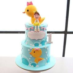 Ducky cake!
