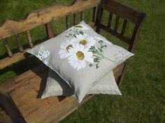Linen pillowcases Marguerite by shabby.romantic - SAShE.sk - Handmade
