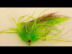 ▶ Pike fly: Bleeding ultra Perch - YouTube