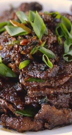 PF Chang's Mongolian Beef | beef recipes, dinner ideas | blissfullydelicious.com