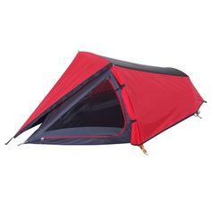 Denali Zephyr I Hike Tent Red & Black