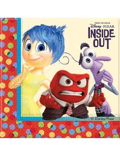 Disney pixar inside out 200ml gobelets en plastique 8pk-fête d/'anniversaire vaisselle