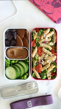 Lunch Meal Prep, Healthy Meal Prep, Healthy Snacks, Healthy Recipes, Healthy Lunch Boxes, Vegan Lunch Box, Cute Lunch Boxes, Bento Recipes, Lunch Box Recipes