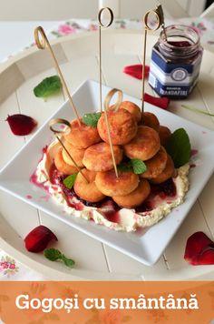 """Azi va arat o reteta de la Buni Sia – Gogosi cu smantana, pe care ea desigur ca nu a denumit-o asa 🙂 Pentru ea sunt gogosi si punct. Pentru ea nu se taie cu o """"forma rotunda de 2-3 cm"""", ci se taie cu paharul. Lidl, Breakfast, Ethnic Recipes, Desserts, Food, Sweets, Morning Coffee, Tailgate Desserts, Deserts"""