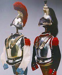 Guerras Napoleónicas: CABALLERÍA PESADA O DE RESERVA: CORECEROS Y CARABINEROS