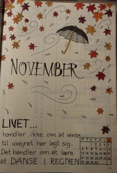 Bullet journal november forside Bullet journal November front page – – This image has get Bullet Journal November Layout, Bullet Journal Vidéo, Bullet Journal Monthly Spread, Bullet Journal Cover Page, Bullet Journal Aesthetic, Bullet Journal Themes, Bullet Journel, Journal Inspiration, Journal Ideas