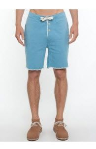 Three over one - Horace Track #Shorts - Shorts (Light Blue Marl)