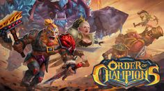 Order of Champions poster 3D/RPG/Online/Strategy RPG/Fantasy