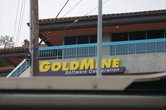 Old GoldMine office on PCH in Pacific Palisades - it's now a gym!