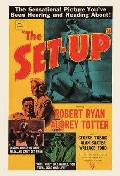 CLASSIC MOVIE POSTER The Set-Up Movie Poster by ArtDecoGallery