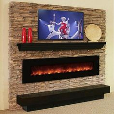 Modern Flame CLX100 Linear LED Electric Fireplace 100