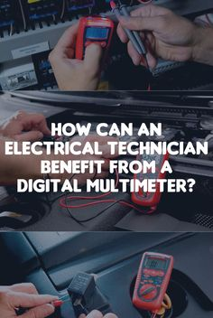 how can an electrical technician benefit from a digital multimeter http
