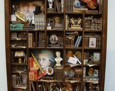 miniLibrary miniature thematic invasion by bagusitalyminiatures