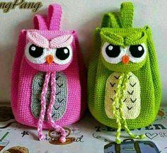 Angry Owls backpacks