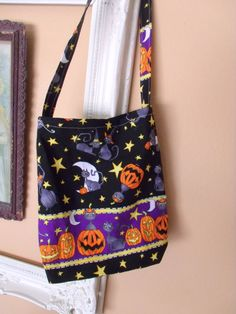 Halloween Trick or Treat Bag Candy Reusable by SweetRepeatVintage, $8.95