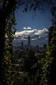 Santiago de Chile * by By3nz  on 500px