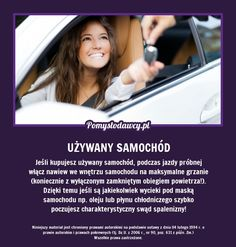 PROSTY TRIK, KTÓRY PRZYDA CI SIĘ JEŚLI KUPUJESZ UŻYWANY SAMOCHÓD - Z PEWNOŚCIĄ GO NIE ZNASZ! E36 Cabrio, Good To Know, Did You Know, In Case Of Emergency, Home Hacks, Clever Diy, Good Advice, Kids And Parenting, Cleaning Hacks