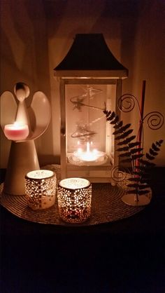 Changing Seasons Lantern,  Angel Heart tealight holder,  Silver Fern SmartScent Holder & Nordic Lights votive pair.   @partyliteau #the_candle_man_brenton_golley www.brentongolley.partylite.com.au