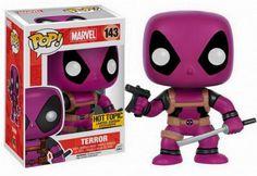 Funko Pop Marvel Deadpool Rainbow Squad Terror 143