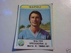 Figurine Calciatori Panini 1980/81n°227 WALTER SPEGGIORIN I° NAPOLI Nuova