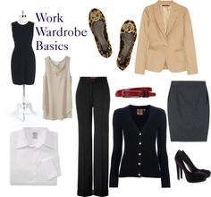 """Work Wardrobe Essentials"""