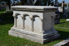 """Tomb of Betsy Bonaparte in Baltimore reads: """"Sacred to the memory of Elizabeth,  daughter of William  Patterson and wife of Jerome Bonaparte.  Born February 6th, 1785.   Died April 4th, 1879.  AFTER LIFE'S FITFUL FEVER SHE SLEEPS WELL"""""""