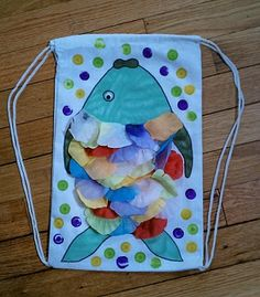 "Create a ""fishy"" backpack that's cool for school."