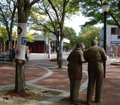 Davis Square, the heart of Somerville MA
