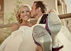"""just married"" or ""thank you"""