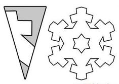 Snowflake craft idea for kids | Crafts and Worksheets for Preschool,Toddler and Kindergarten